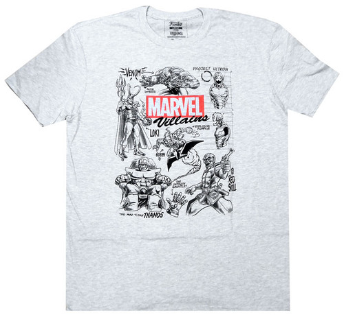 Funko Marvel Collector Corps Villains T-Shirt [2X-Large]