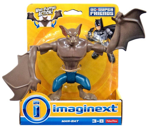 Fisher Price DC Super Friends Imaginext Man-Bat 4.5-Inch Figure