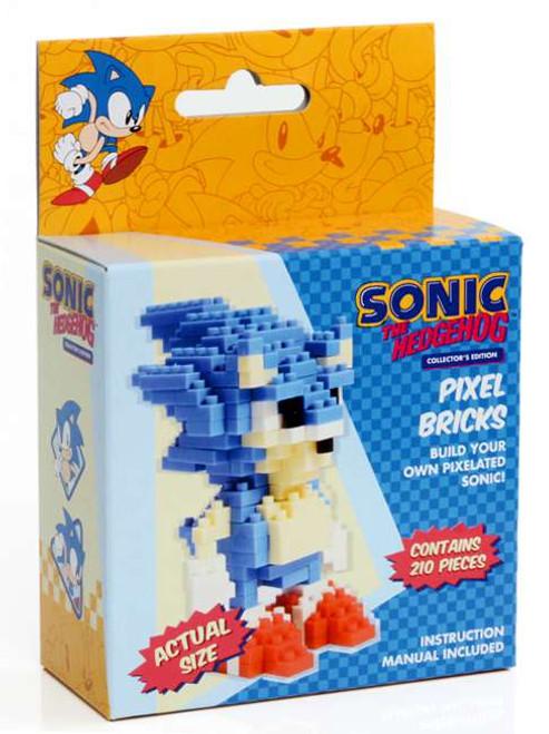 Sonic The Hedgehog Pixel Bricks Sonic 3-Inch Brick Construction Set
