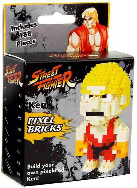 Street Fighter Ken 3-Inch Brick Construction Set