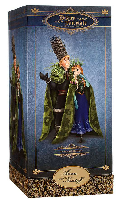 Disney Princess Frozen Disney Fairytale Designer Collection Anna & Kristoff Exclusive 11.5-Inch Doll Set