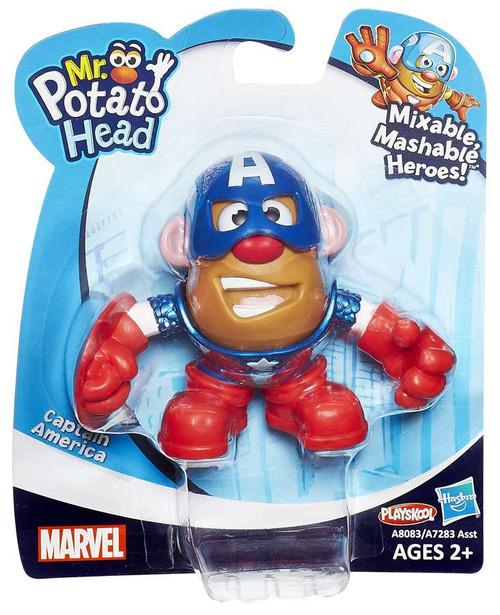 Marvel Playskool Mixable, Mashable Heroes! Captain America Mini Mr. Potato Head