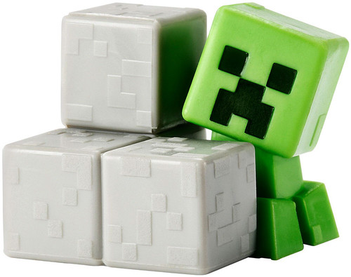 Minecraft Obsidian Series 4 Sneaky Creeper 1-Inch Mini Figure [Loose]