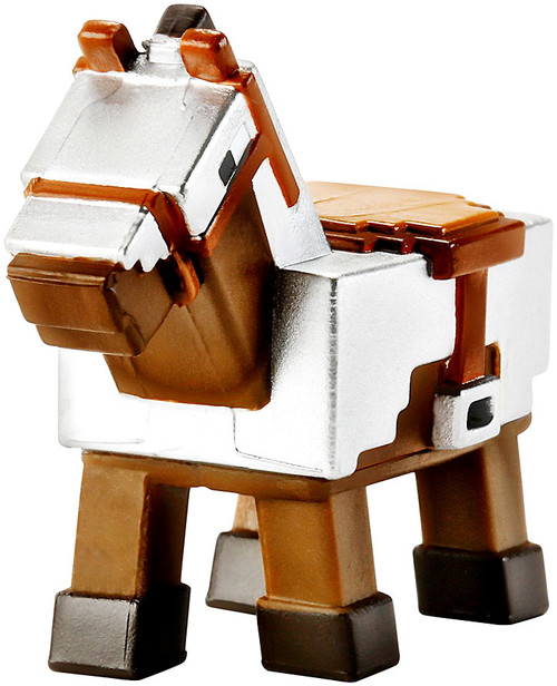 Minecraft Obsidian Series 4 Armored Horse 1-Inch Mini Figure [Loose]