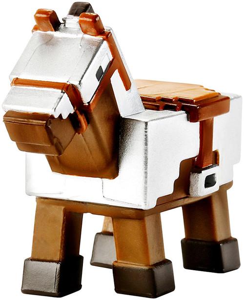 Minecraft Obsidian Series 4 Armored Horse 1-Inch Mini Figure [Loose]
