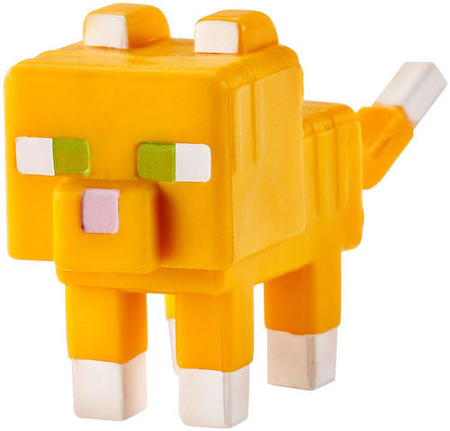 Minecraft Obsidian Series 4 Tabby Cat 1-Inch Mini Figure [Loose]