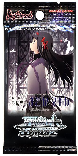 Weiss Schwarz Puella Magi Madoka Magica The Movie Rebellion Booster Pack [8 Cards]