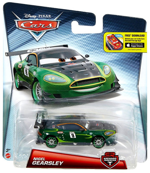 Disney / Pixar Cars Carbon Racers Nigel Gearsley Diecast Car