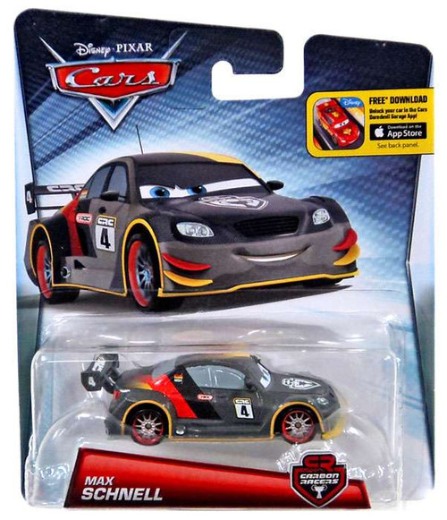 Disney / Pixar Cars Carbon Racers Max Schnell Diecast Car