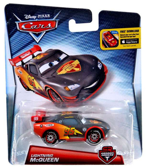 Disney / Pixar Cars Carbon Racers Lightning McQueen Diecast Car