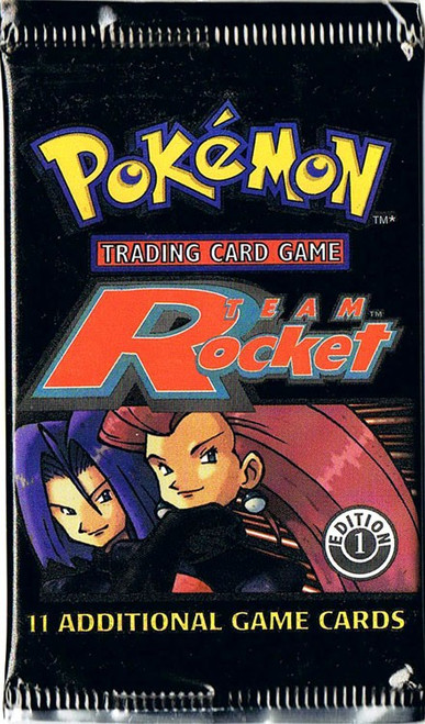 Pokemon Trading Card Game Team Rocket Booster Pack [1st Edition, 11 Cards]