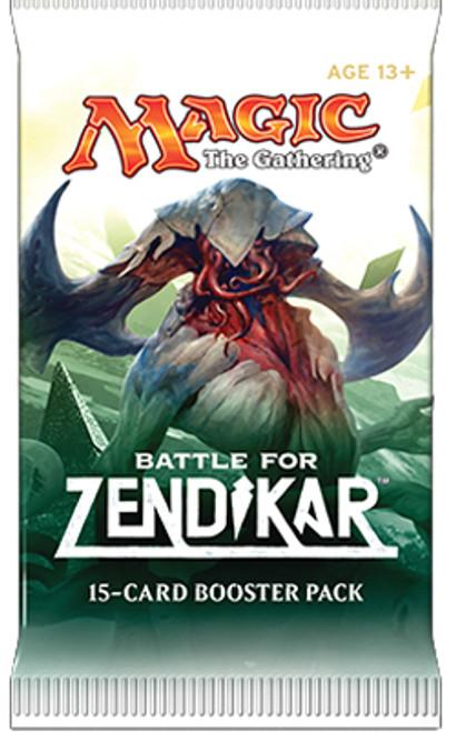 MtG Trading Card Game Battle for Zendikar Booster Pack [15 Cards]