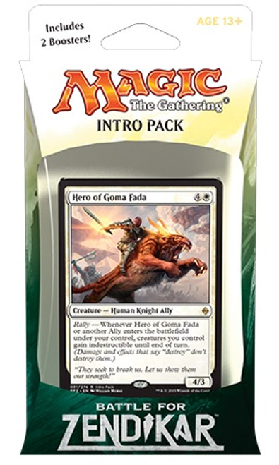 MtG Trading Card Game Battle for Zendikar Rallying Cry Intro Deck