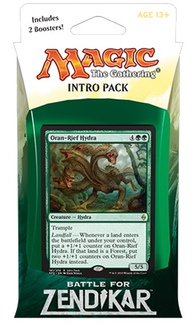 MtG Trading Card Game Battle for Zendikar Zendikar's Rage Intro Deck