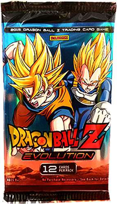 Dragon Ball Z Collectible Card Game Evolution Booster Pack [12 Cards]