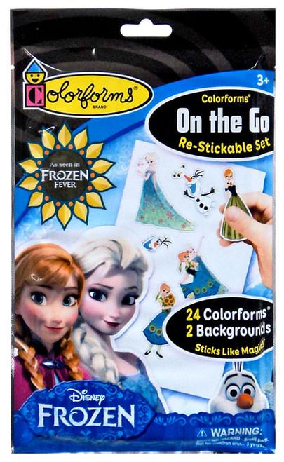 Colorforms Disney On the Go Frozen Fever Set