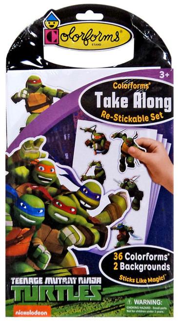 Colorforms Take Along Teenage Mutant Ninja Turtles Set