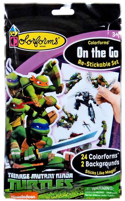 Colorforms On the Go Teenage Mutant Ninja Turtles Set