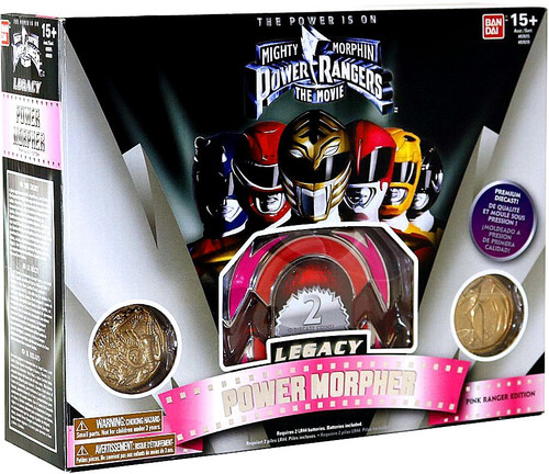 Power Rangers The Movie Legacy Pink Ranger Morpher Roleplay Toy