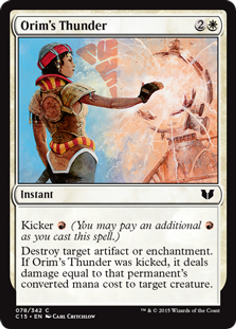 MtG Commander 2015 Common Orim's Thunder #78