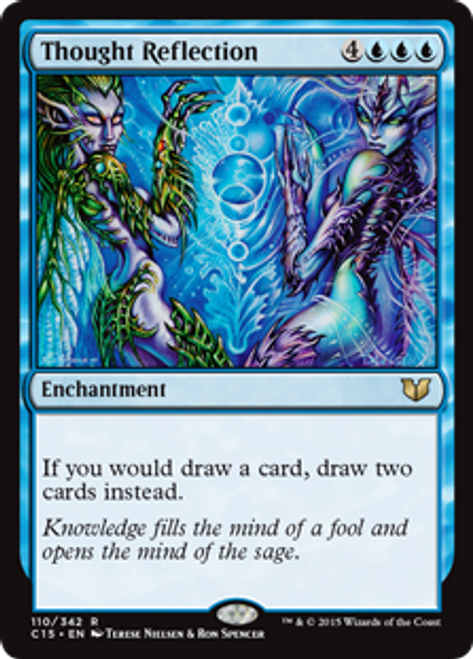 MtG Commander 2015 Rare Thought Reflection #110