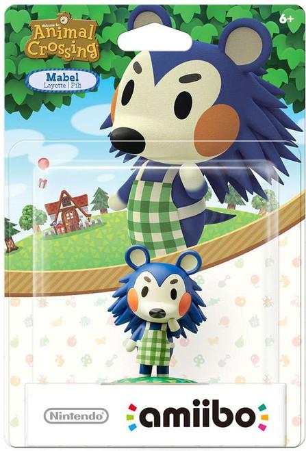 Nintendo Animal Crossing Amiibo Mabel Mini Figure