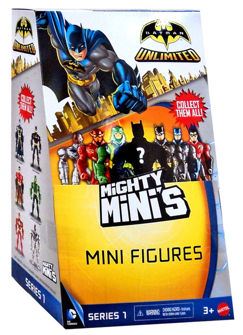 Batman Unlimited Mighty Minis Series 1 Mystery Box [36 Packs]