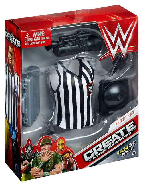 WWE Wrestling Create A WWE Superstar Referee Accessory Pack