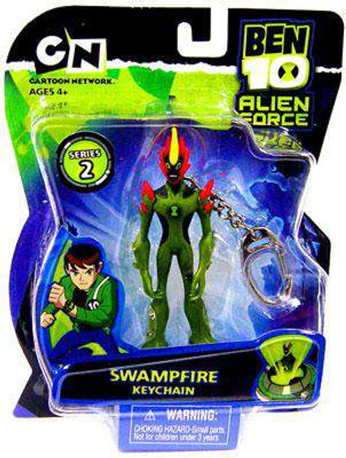 Ben 10 Alien Force Series 2 Swampfire Keychain [Loose]