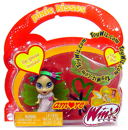 Winx Club Pixie Kisses Amore Lip Gloss [Non-Mint Package]