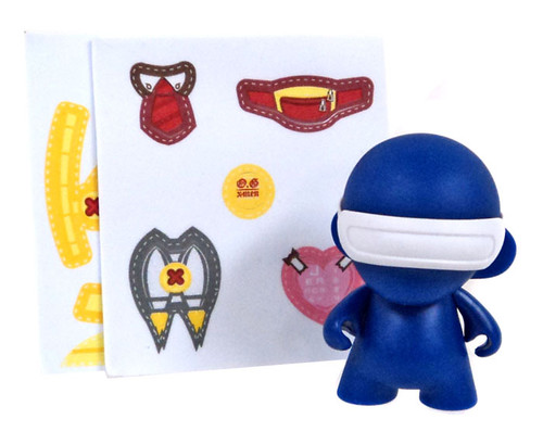 Marvel MunnyWorld Micro Munny Series 2 Cyclops 2.5-Inch Vinyl Figure