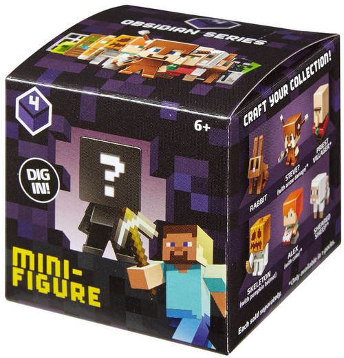 Minecraft Obsidian Series 4 Mystery Pack