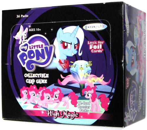 My Little Pony Friendship is Magic High Magic Booster Box [36 Packs]