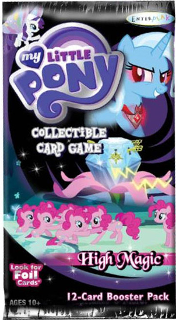My Little Pony Friendship is Magic High Magic Booster Pack [12 Cards]