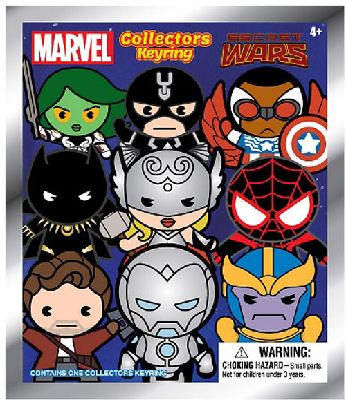 Marvel 3D Figural Keyring Secret Wars Mystery Pack [1 RANDOM Figure]