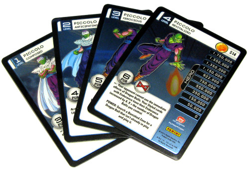 Dragon Ball Z Trading Card Game 2015 Evolution Starter Set Set of 4 Piccolo Personality Fixed Single Cards