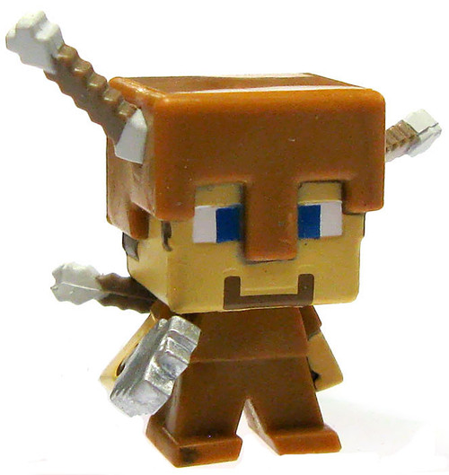 Minecraft Obsidian Series 4 Steve with Arrow Damage 1-Inch Mini Figure [Loose]
