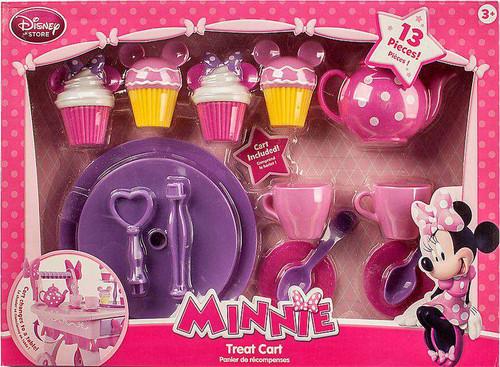 Disney Minnie Mouse Treat Cart Playset