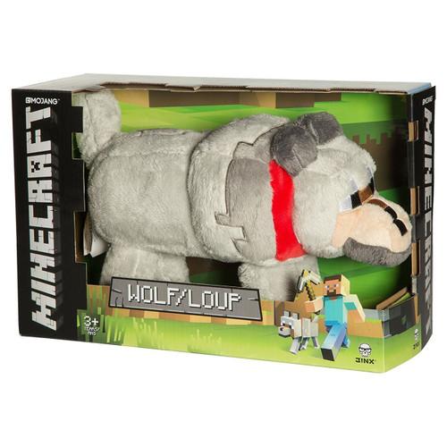 Minecraft Wolf 15-Inch Plush