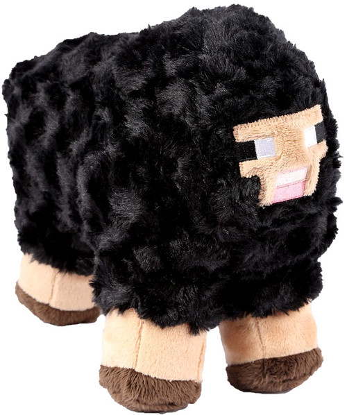Minecraft Black Sheep 10-Inch Plush