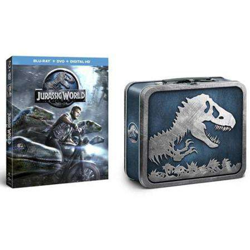 Jurassic World Blu-ray DVD Collectible Lunch Box