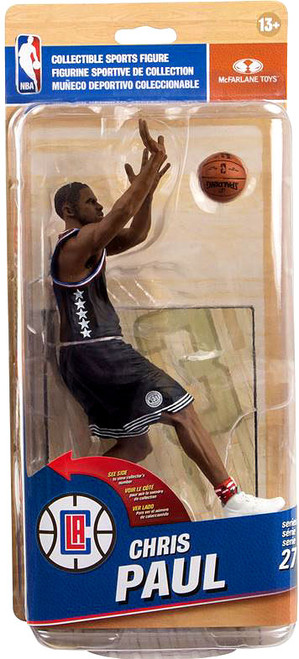 McFarlane Toys NBA Los Angeles Clippers Sports Picks Series 27 Chris Paul Action Figure [Black Uniform]