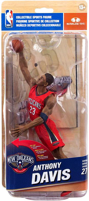 McFarlane Toys NBA New Orleans Pelicans Sports Picks Series 27 Anthony Davis Action Figure [Red Uniform]