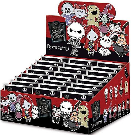 Nightmare Before Christmas 3D Figural Keyring NBX Series 1 Mystery Box [24 Packs]