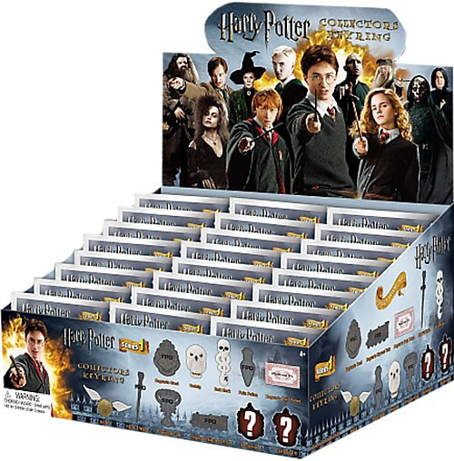 3D Figural Keyring Harry Potter Series 1 Mystery Box [24 Packs]