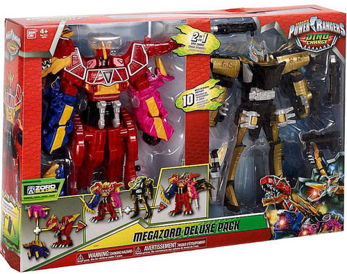 Power Rangers Zord Builder Ptera Charge & Dino Charge Megazords Action Figure 2-Pack