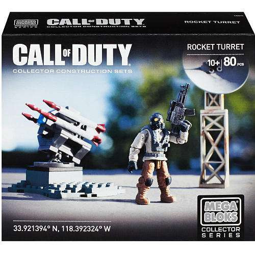 Mega Bloks Call of Duty Rocket Turret Set #38143