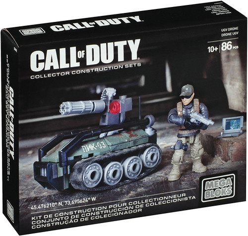 Mega Bloks Call of Duty UGV Drone Set #38144
