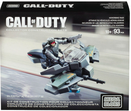 Mega Bloks Call of Duty Hoverbike Raid Set #38145