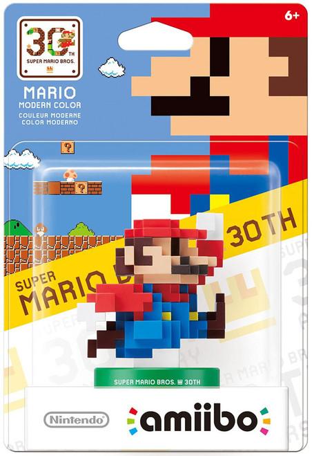 Nintendo Super Mario Bros. 30th Amiibo Mario Mini Figure [Modern Colors]